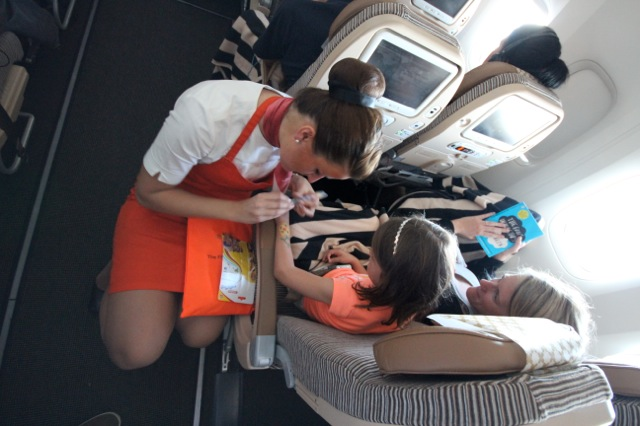 Etihad Airways Flying Nanny