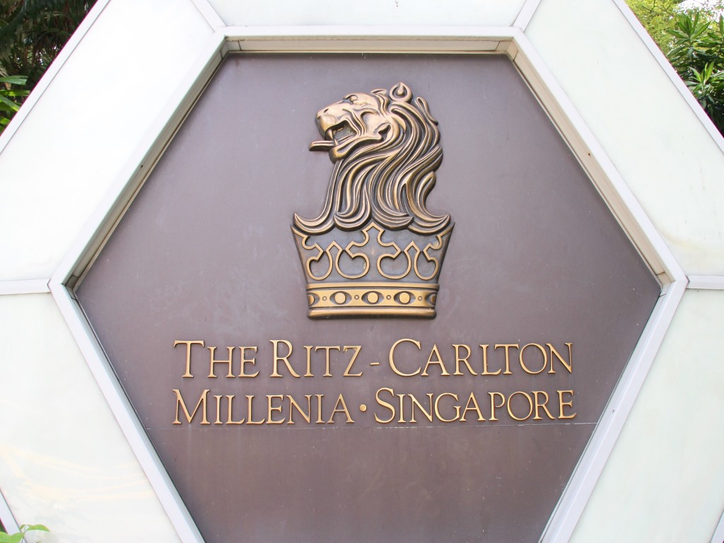 The Ritz- Carlton, Millenia Singapore