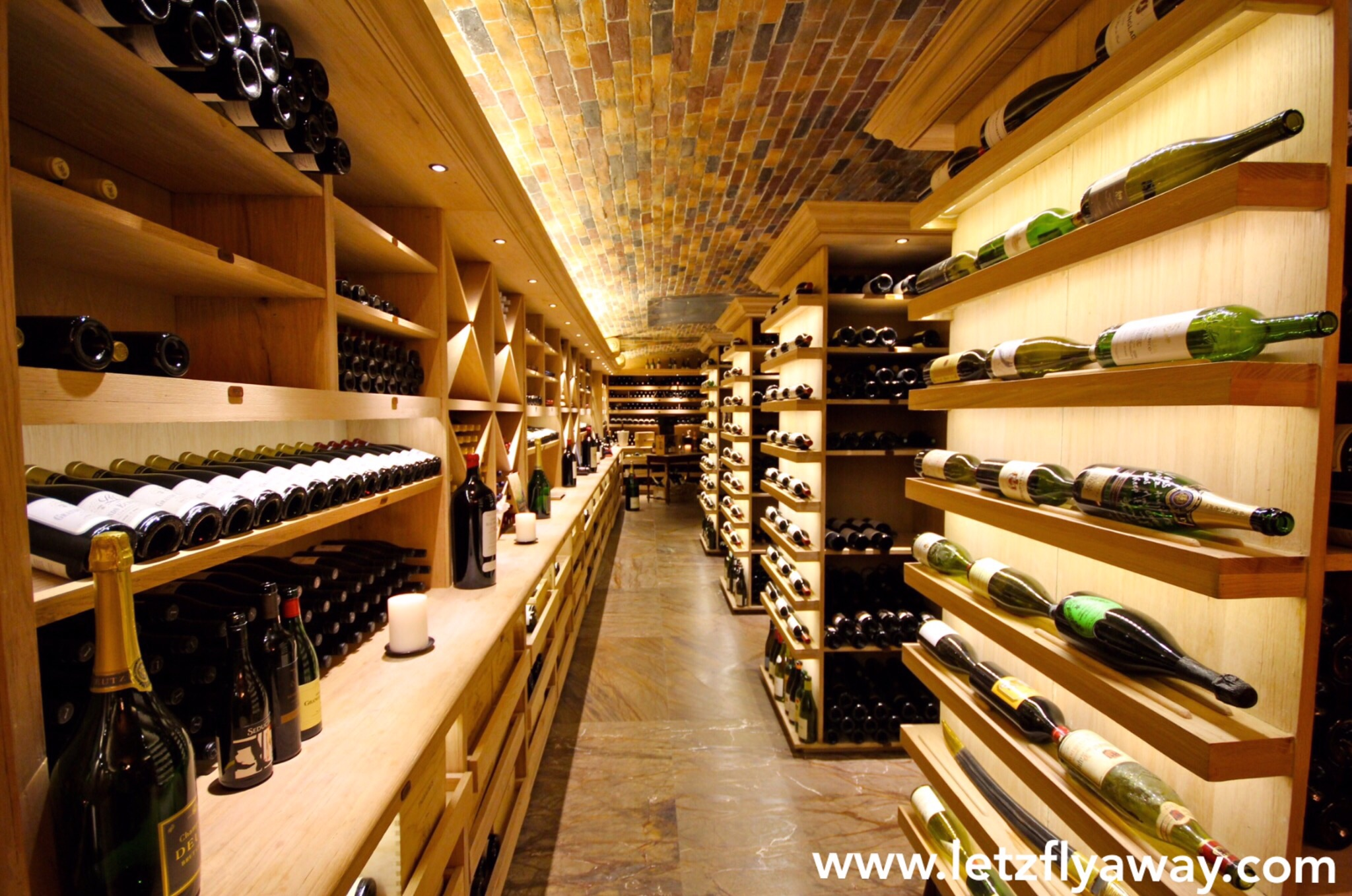 Constance le prince maurice wine cellar for Most beautiful wine bottles