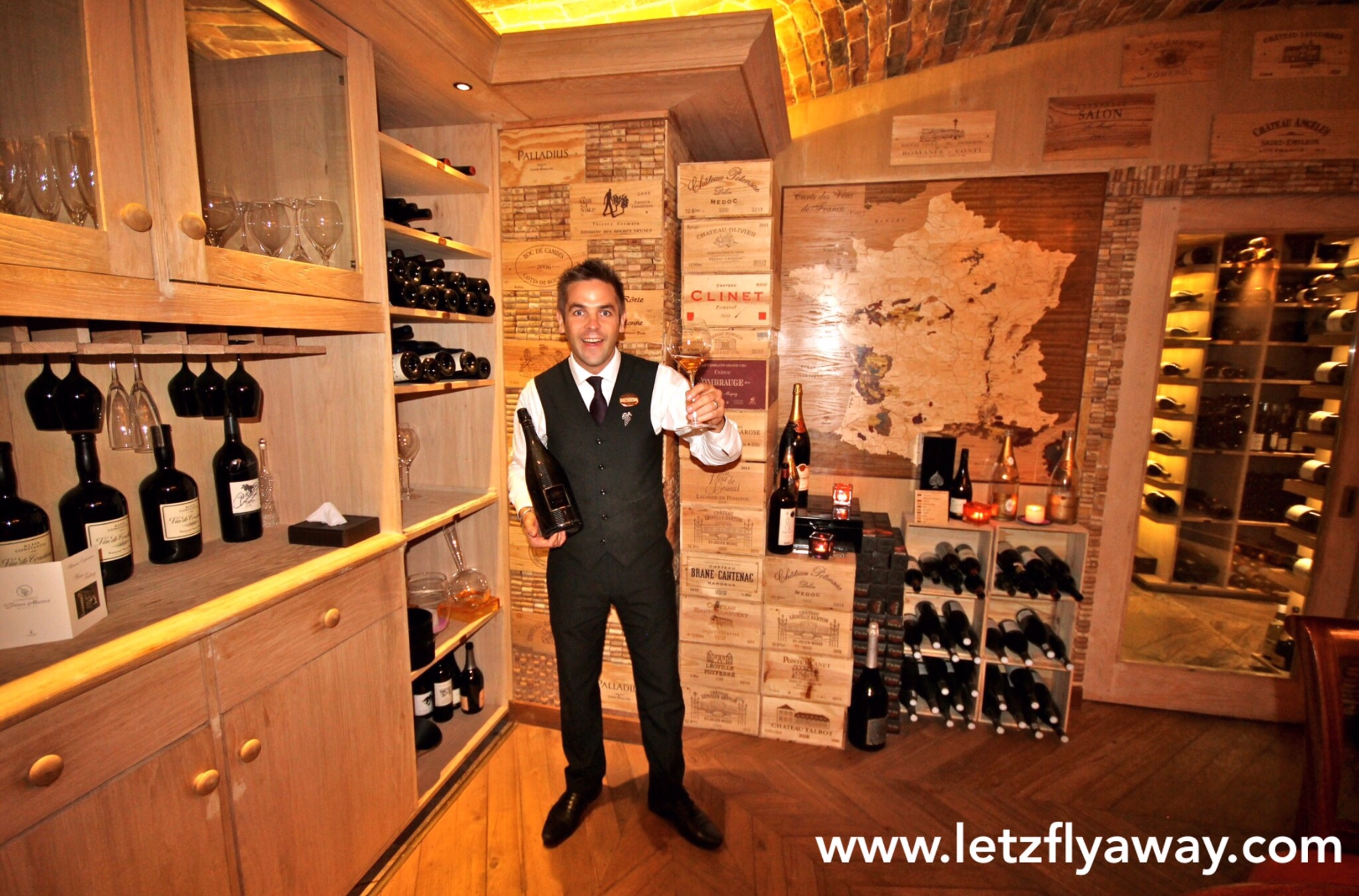 Constance Le Prince Maurice Wine Cellar & Constance Le Prince Maurice Wine Cellar |