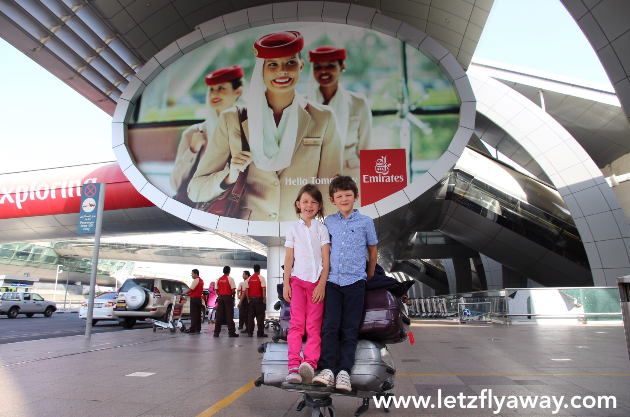 Fly emirates airport