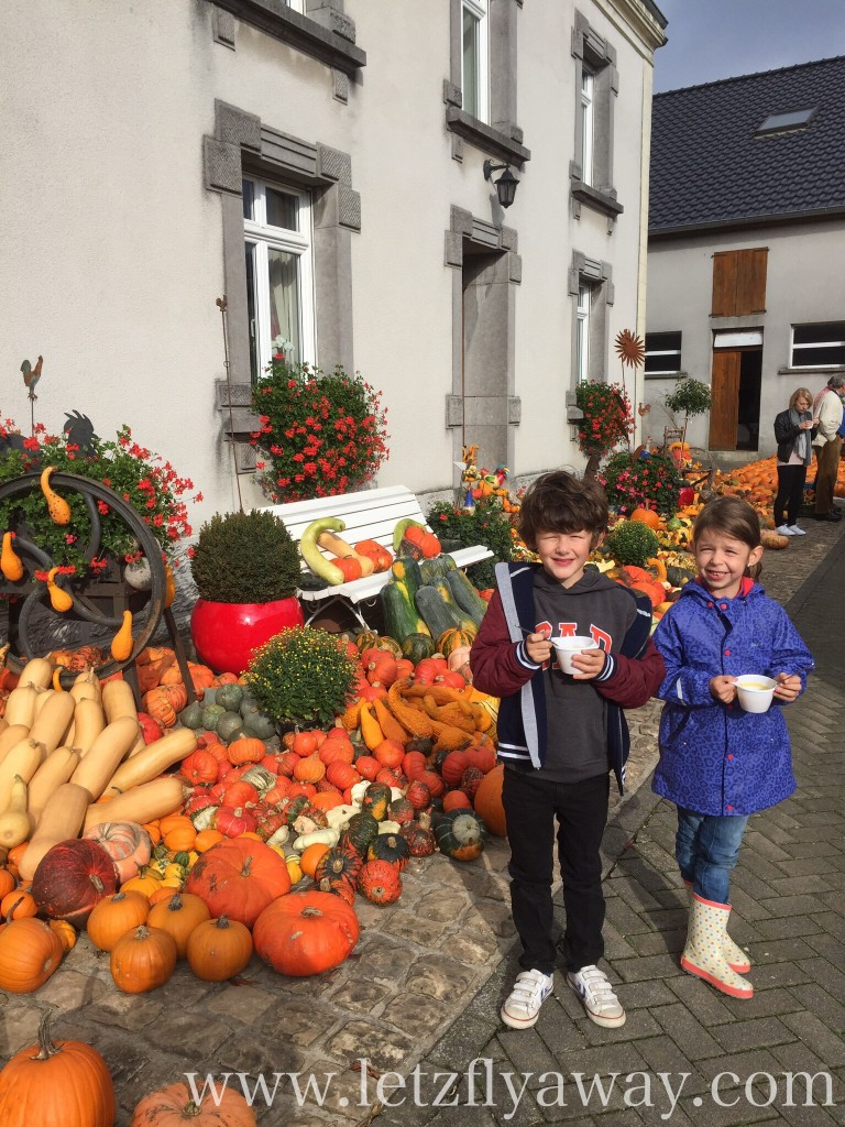 Visiting the ultimate pumpkin farm in Luxembourg