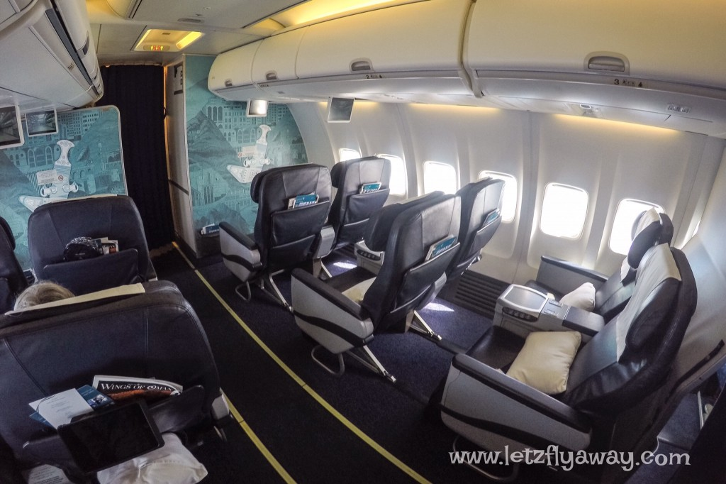 Oman Air Business Class Boeing 737 -800
