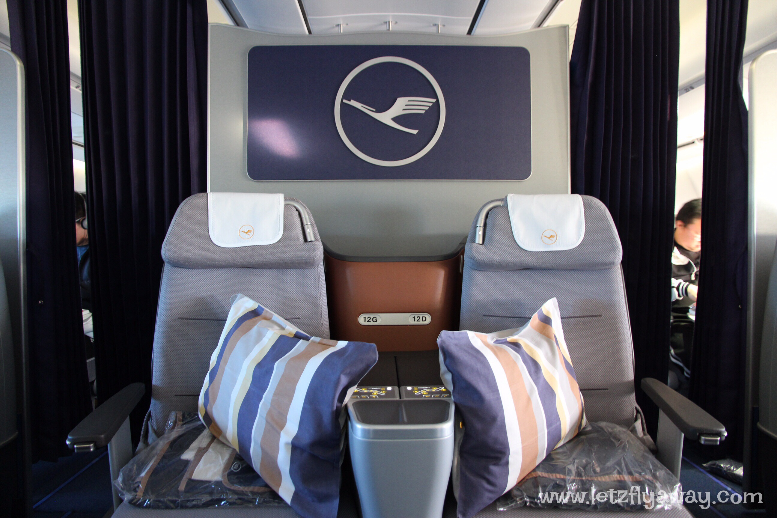 Lufthansa Business Class | Airbus A340-600