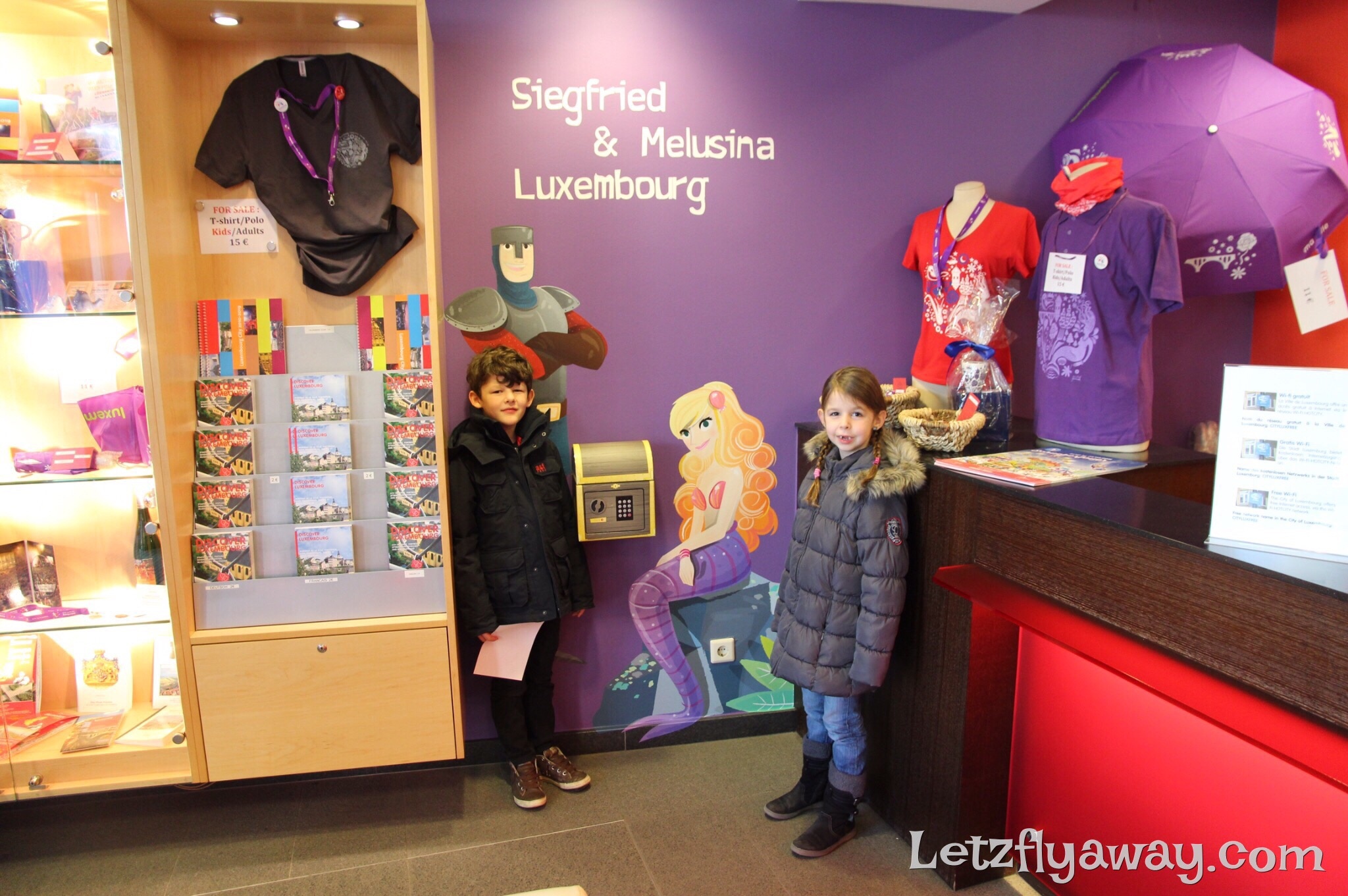 Luxembourg City Promenade for Kids