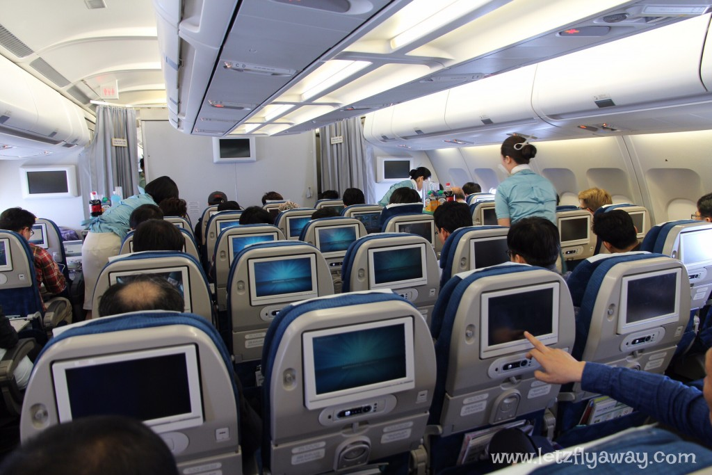 Korean Air Economy Class | Airbus 330