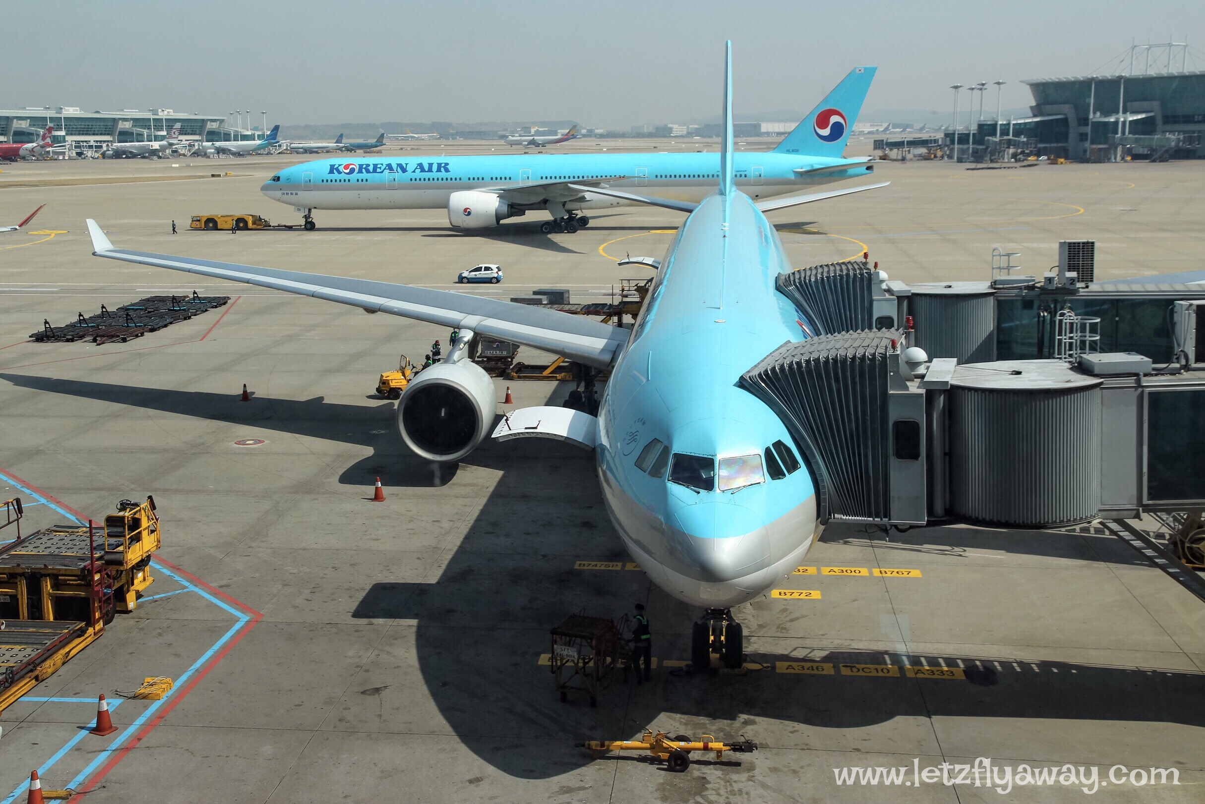 Korean Air Economy Class Airbus 330