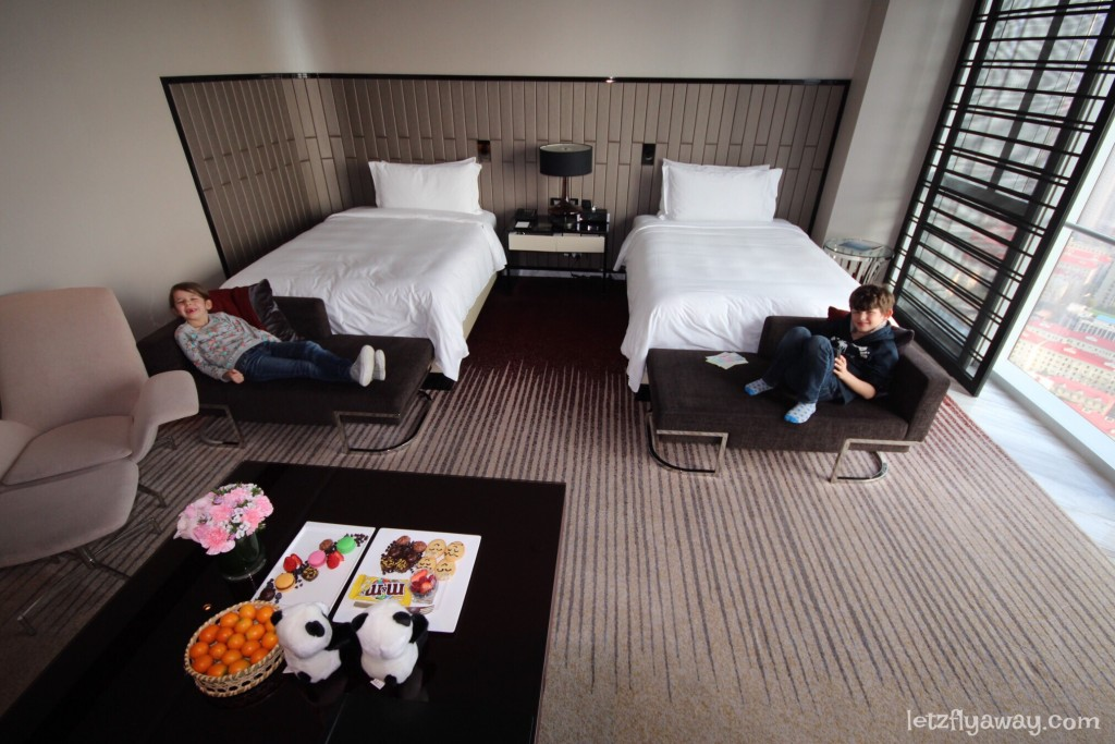 Four Seasons Shanghai Pudong with Kids Club Double Room