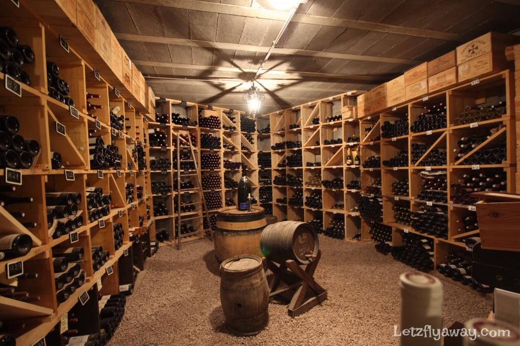 Hostellerie les Bas Rupts Relais & Châteaux in Gérardmer Wine Cellar