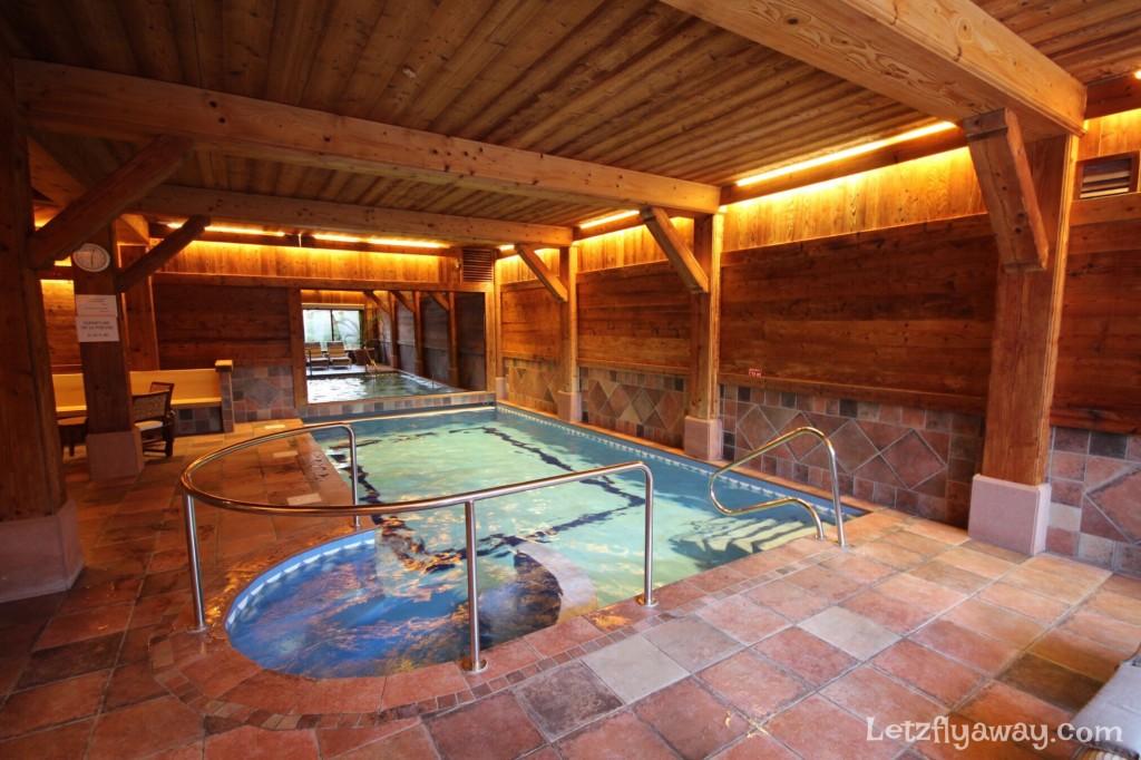 Hostellerie les Bas Rupts Relais & Châteaux in Gérardmer Pool and Spa