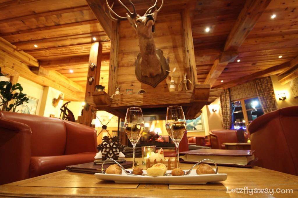 Hostellerie les Bas Rupts Relais & Châteaux in Gérardmer The Bar