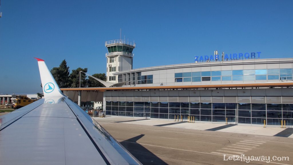 Croatia Road Trip from Zadar to Dubrovnik, Zadar Airport