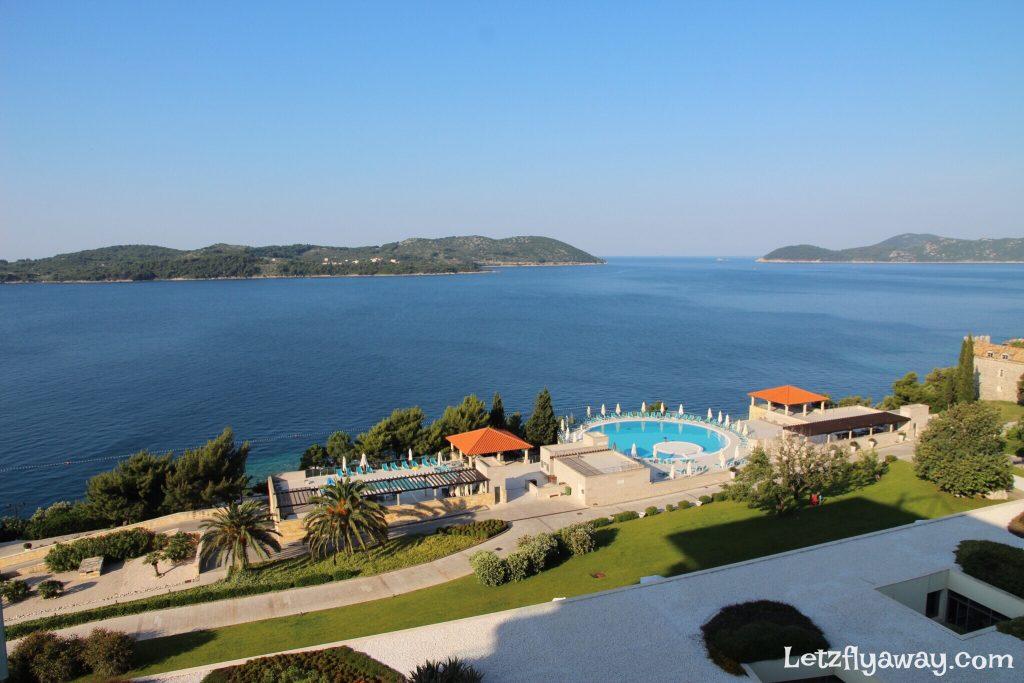Radisson Blu Dubrovnik Sun Gardens view from the room