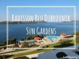 Radisson Blu Dubrovnik Sun Gardens Review
