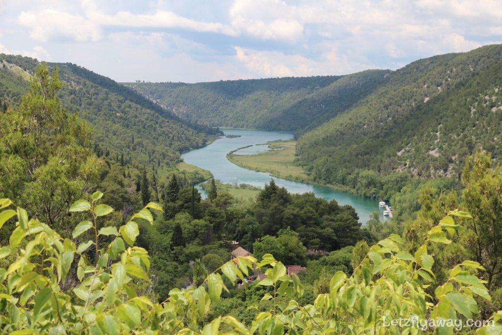 Krka National Park Lozovac trail View