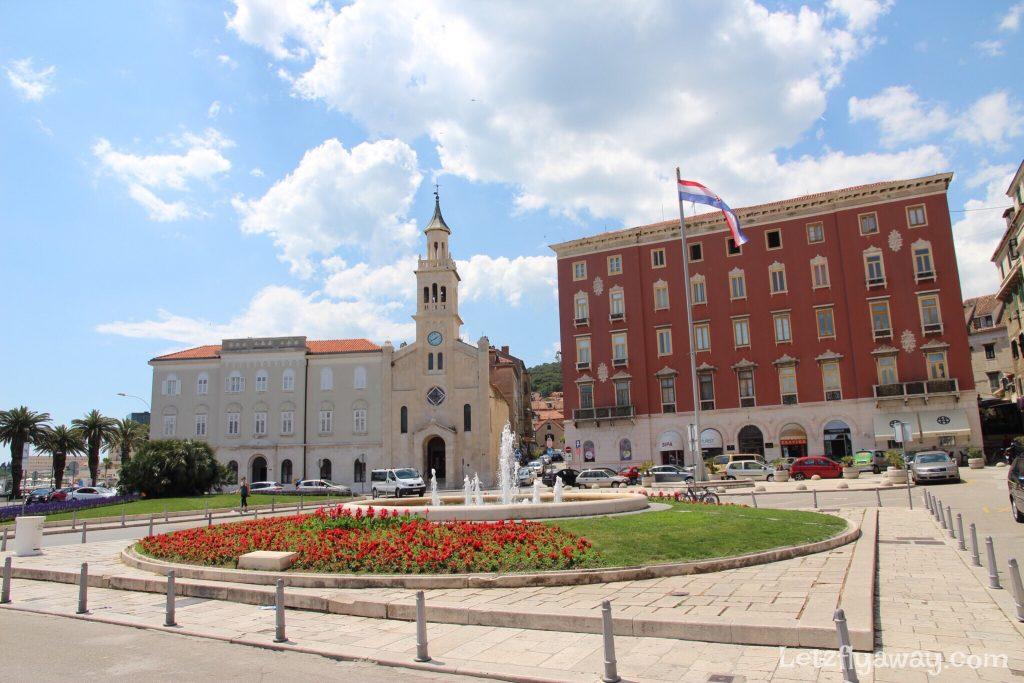 Split Trg Republike