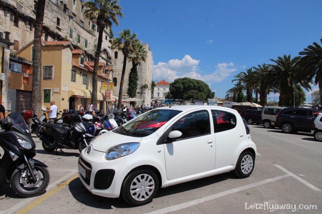 Split Riva Parking