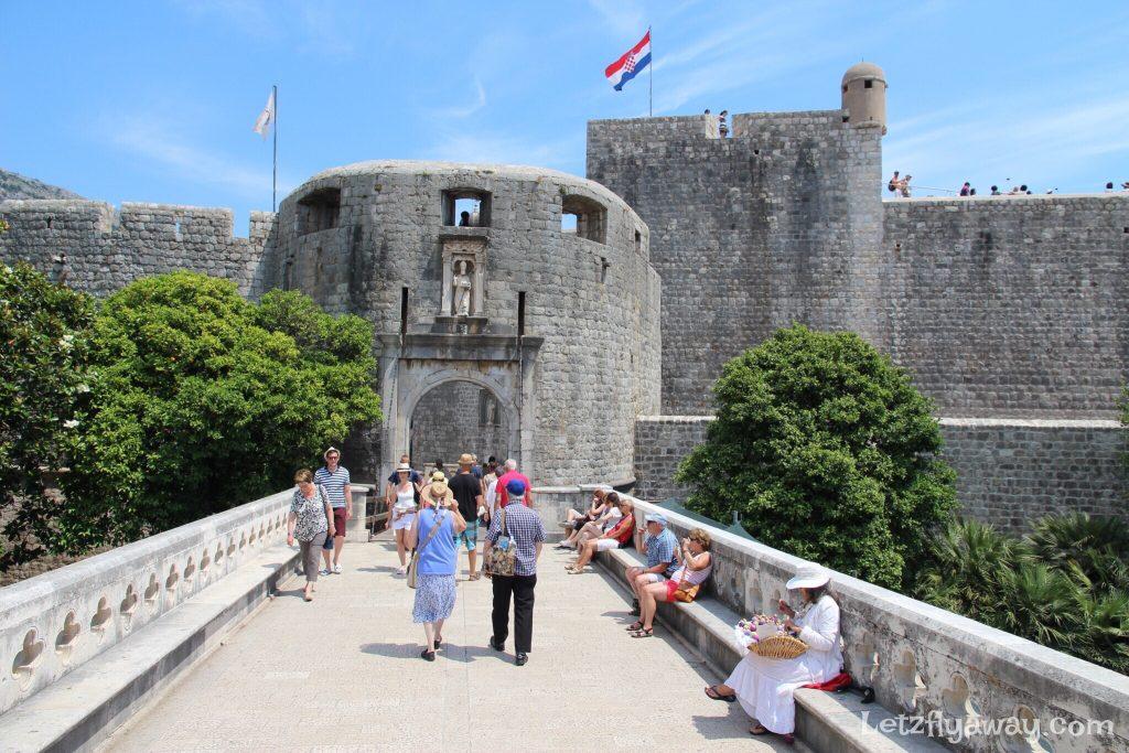 Dubrovnik Old City Entry