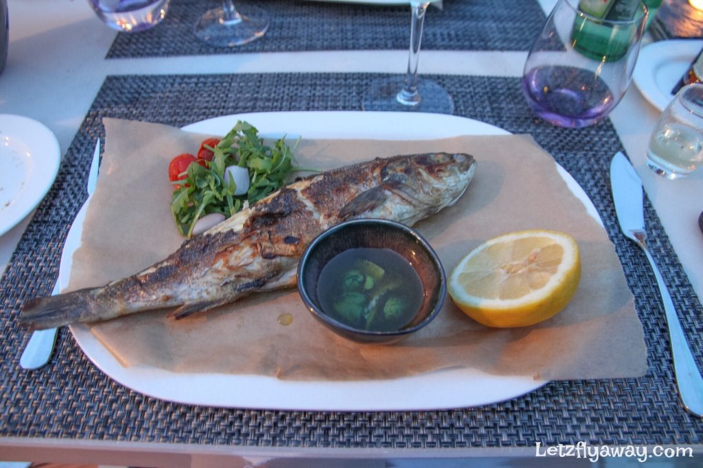 Radisson Blu Resort Split, The Caper restaurant