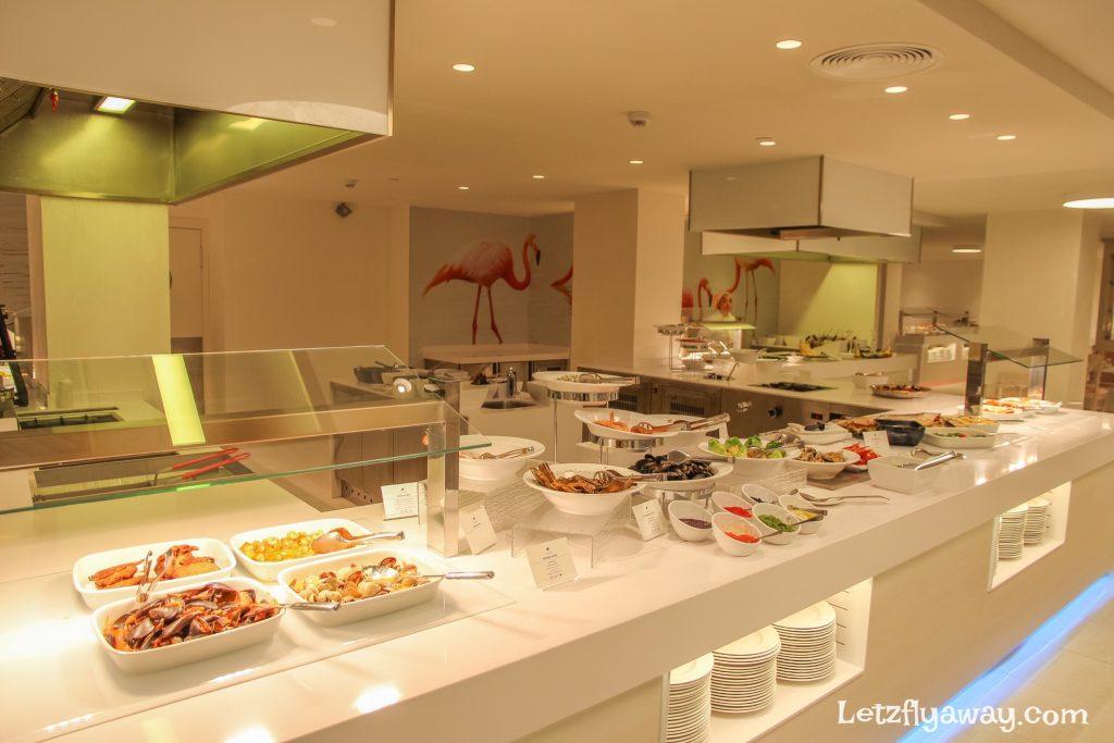 Iberostar Playa de Palma buffet