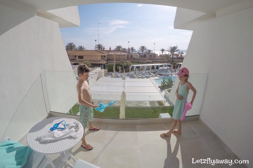Iberostar Playa de Palma terrace family room