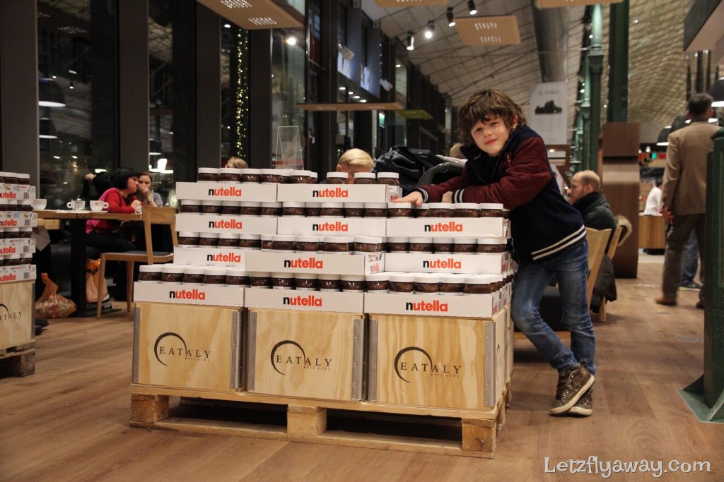 eataly munich with kids