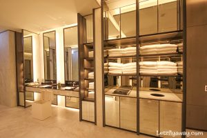 Four Seasons Hotel Seoul changing room