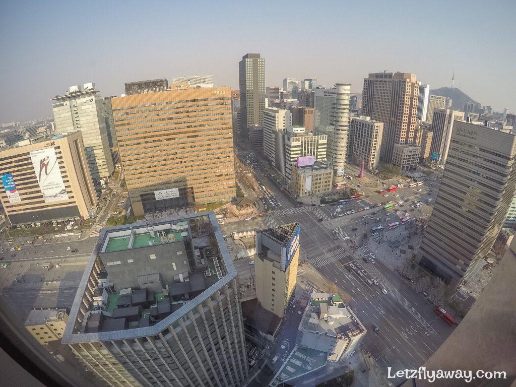 Four Seasons Hotel Seoul Room view
