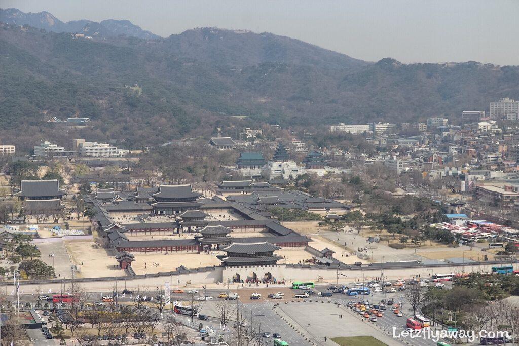 Four Seasons Hotel Seoul Lounge view