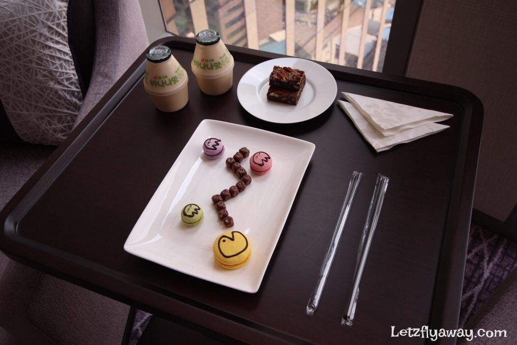 Four Seasons Hotel Seoul Kids welcome amenities