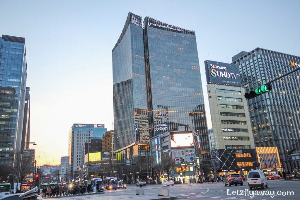 Four Seasons Hotel Seoul Outside view