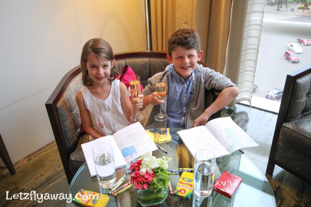 A luxury family friendly stay at St. Regis Mexico City