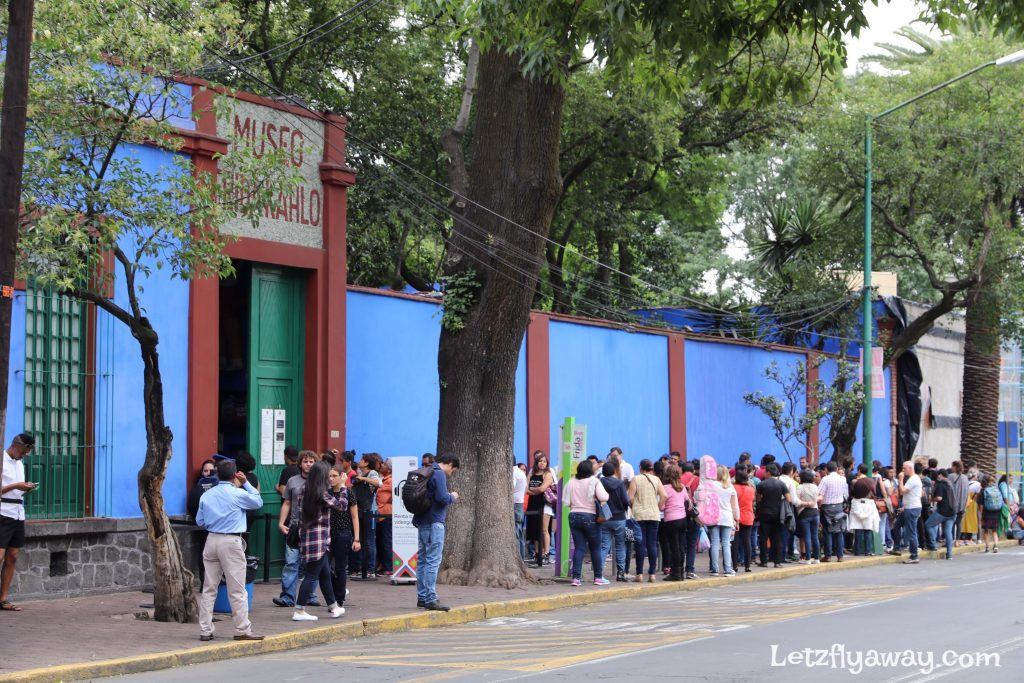 Frida kahlo ticket line