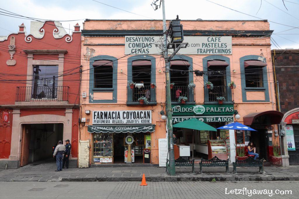 Coyoacan facade