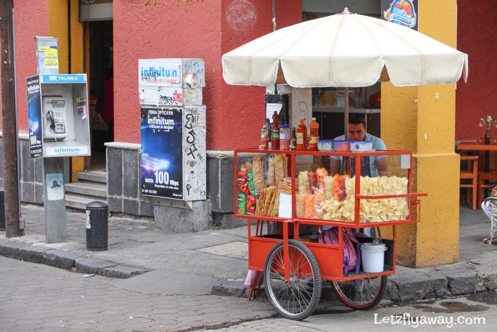 Coyoacan street vendor