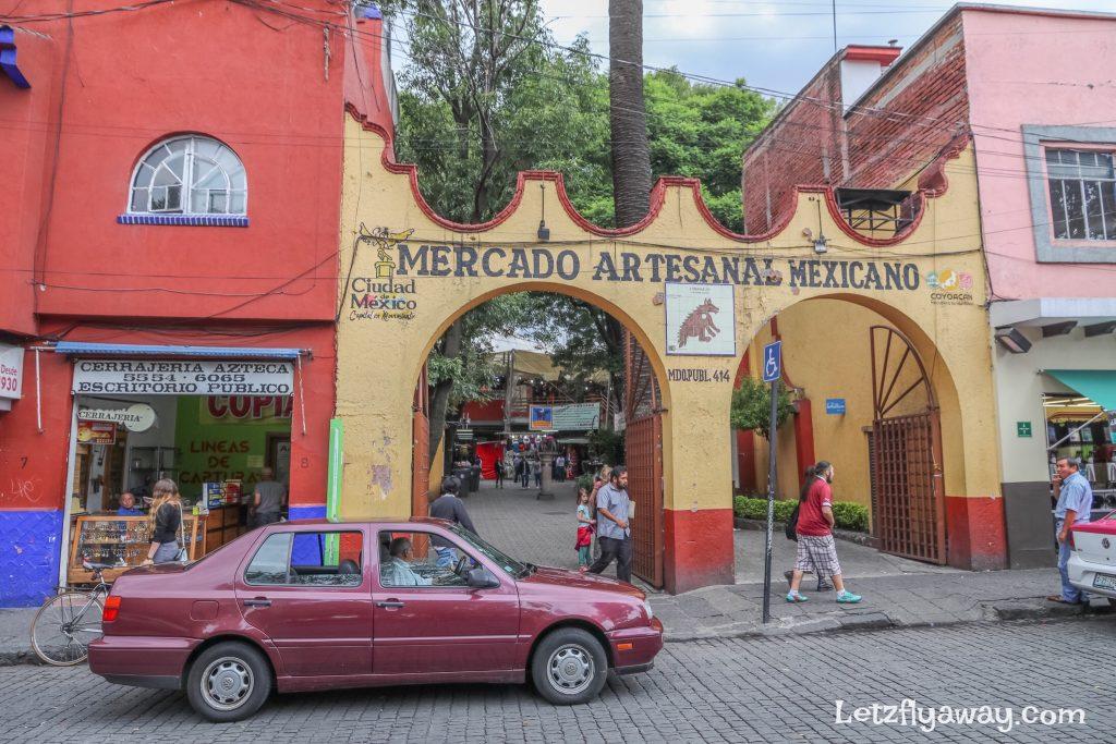 Mercado artesanal mexicano coyoacan