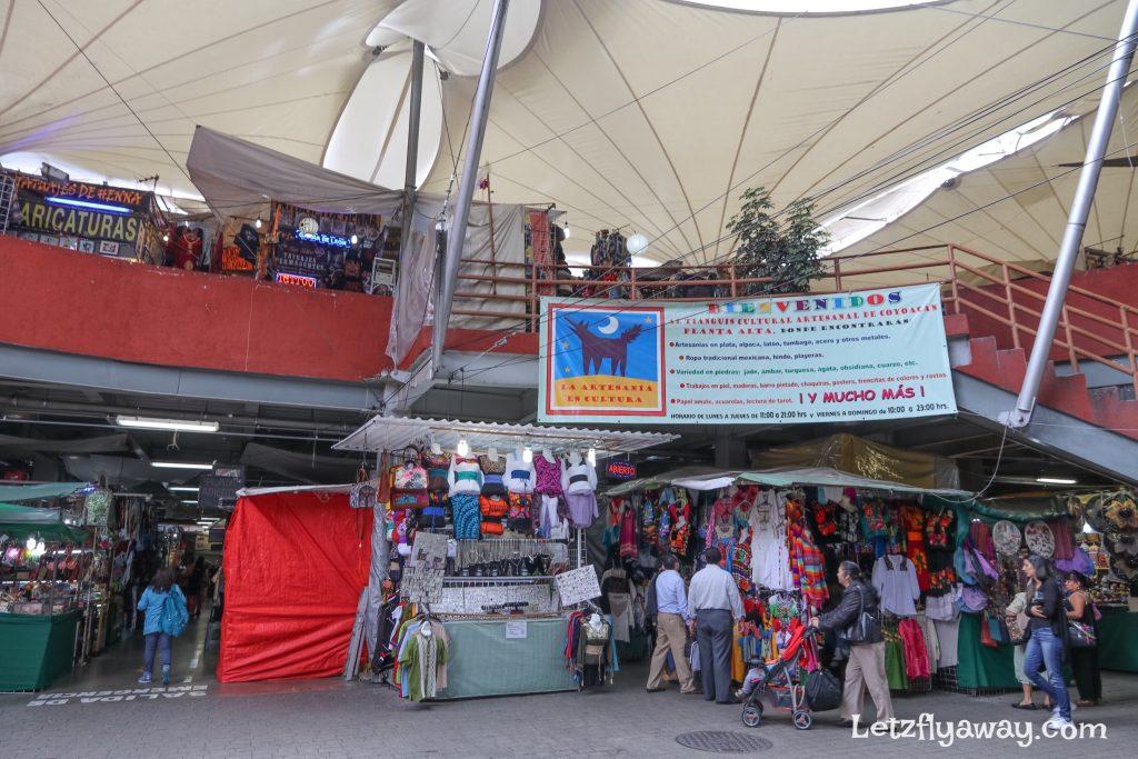 Mercado artesanal coyoacan