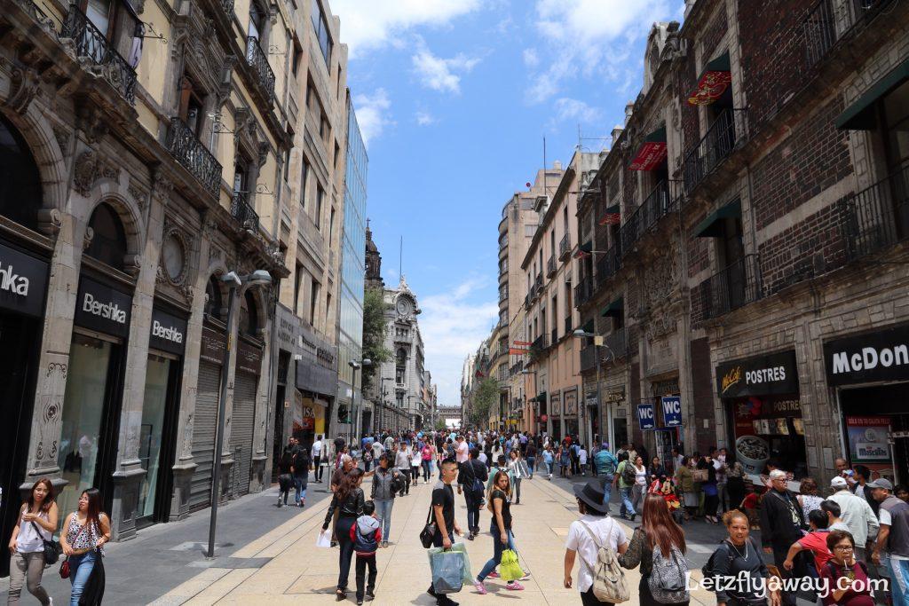 Pedstrian street