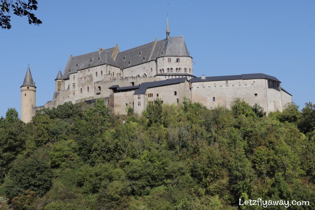 vianden castle cable car