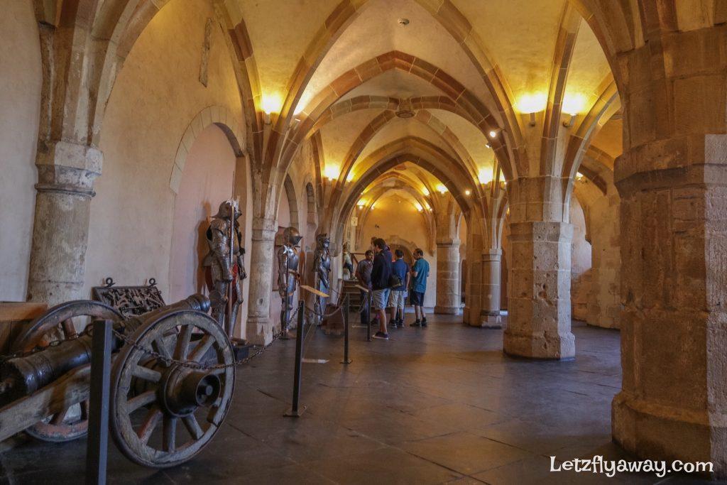 Vianden castle armoury