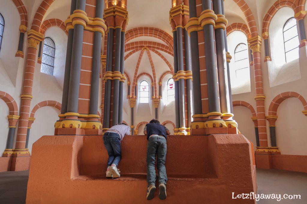 Vianden castle chapel