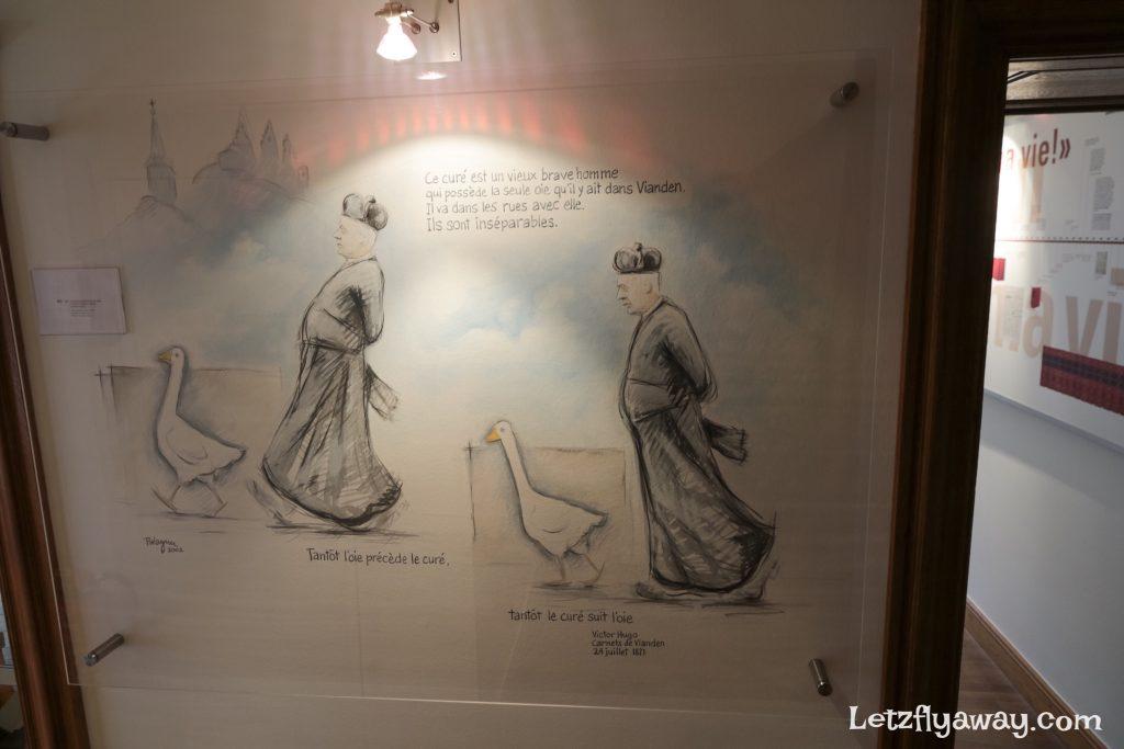 Victor Hugo carnet de Vianden