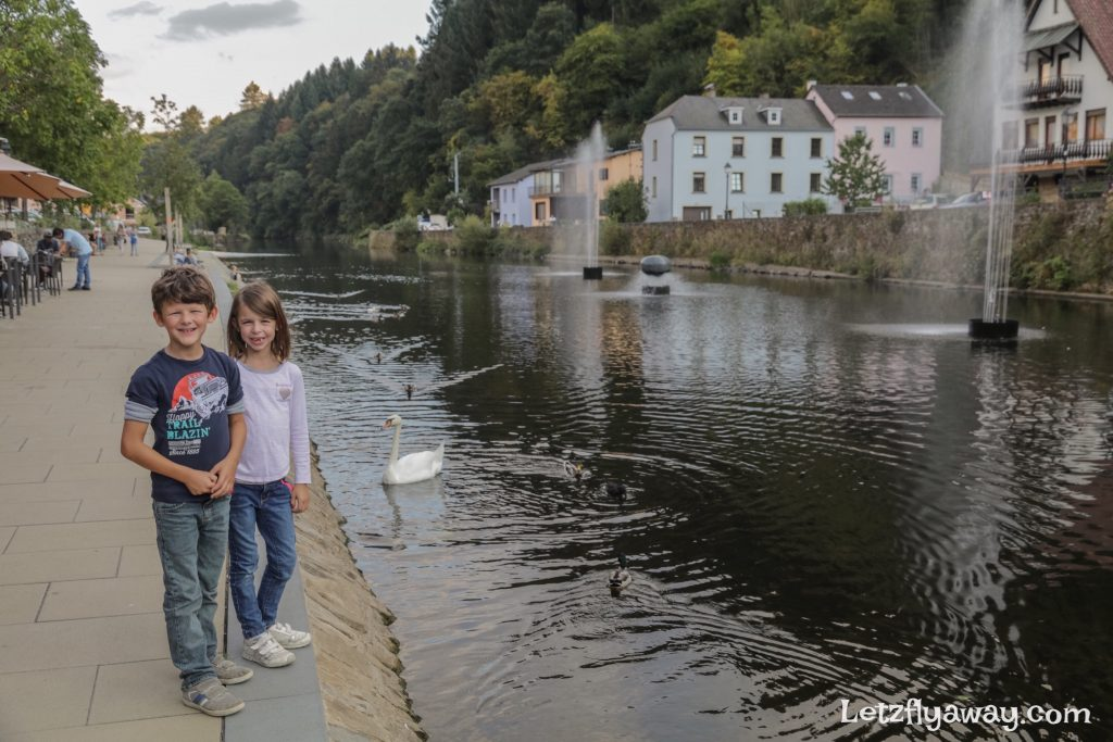 Kids in Vianden