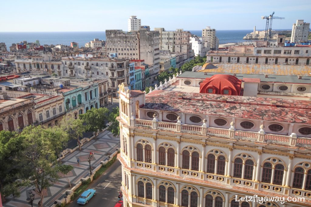 Hotel Mercure Sevilla Havana Cuba View from the room