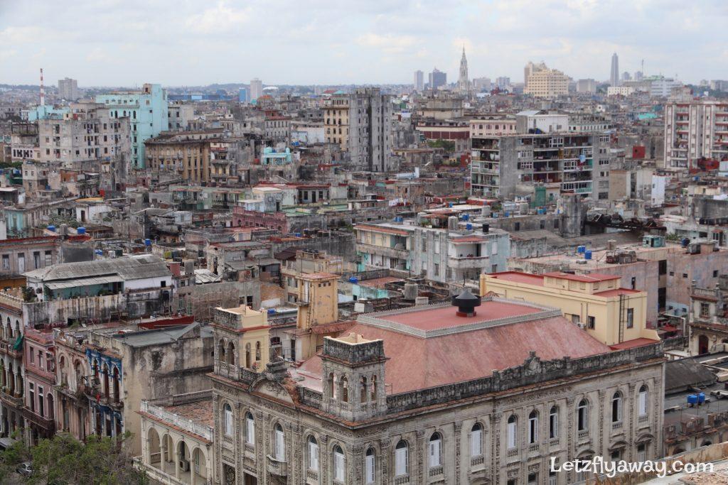 Hotel Mercure Sevilla Havana Cuba View