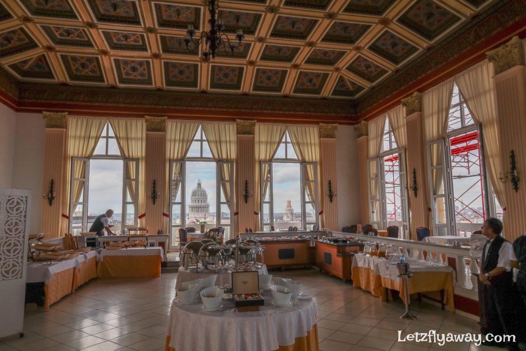 Hotel Mercure Sevilla Havana Cuba Restaurant