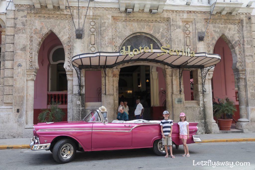 Hotel Mercure Sevilla Havana Cuba Exterior