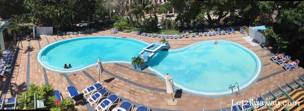 Hotel Mercure Sevilla Havana Cuba Pool