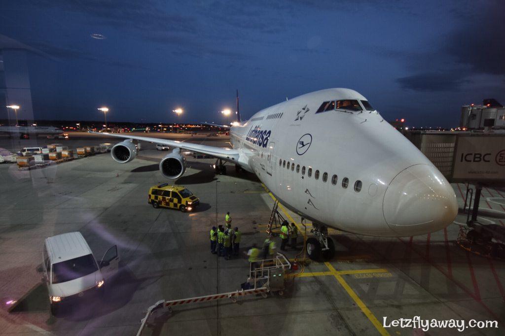Lufthansa Boeing 747-8 Frankfurt Sao Paulo