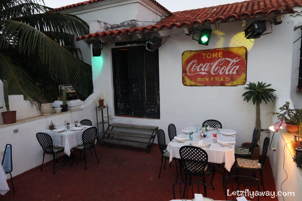 restaurant atelier terrace